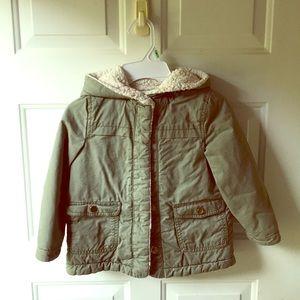 Oshkosh wool lined coat